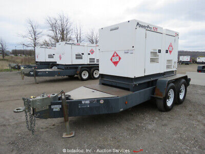 2013 Mmd Sdg125s-8b1 100 Kw Ta Towable Generator 125 Kva Genset Diesel Bidadoo