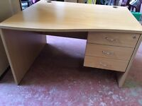 Solid Wood Office Desk