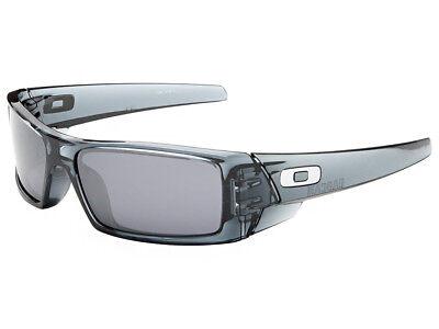 Oakley Gascan Sunglasses 03-481 Crystal Black/Black Iridium