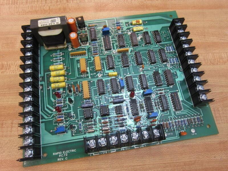 Rapid Electric P.C.72 Circuit Board PC72