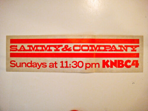Original SAMMY DAVIS, JR. Fan Club Kit - 1975