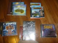 PC Games: Tropico, Battlefield 1942, Police Quest: SWAT 2