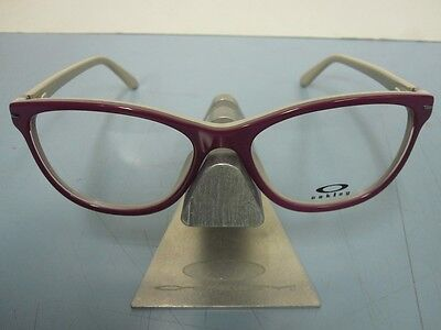 OAKLEY womens STAND OUT 53 helio OX1112-0453 RX eyeglass frame NEW in O case