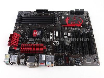 MSI Intel B85 Motherboard B85-G43 GAMING LGA 1150 DDR3 DVI HDMI USB 3.0 ATX