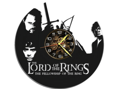 The Lord of the Rings Vinyl Wall Clock Record Gift Home Living Room Decoration