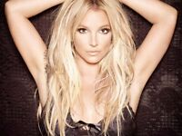 2 x Britney Spears tickets - the o2 arena - Saturday 25th August