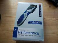 Easy Cut & Trim Cordless Hair Clipper Remover Men Shaving Charger Titanium Blade Travel Portable