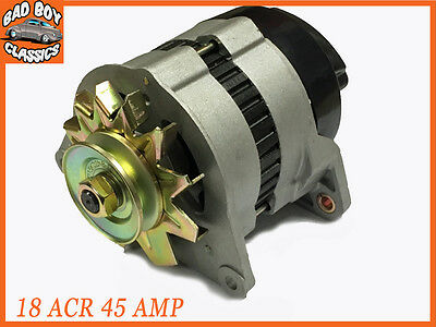 Complete 18ACR 45 Amp Alternator With Pulley  Fan Fits FORD ESCORT MK2 II