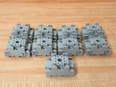 Idec Sr2p-05 Relay Socket 8 Pin Sr2p05 Pack Of 9