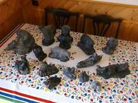 Soapstone Collectables - 15 Pieces