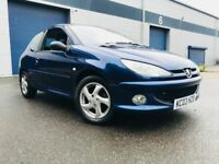 2003 Peugeot 206 1.6 XSi Hatchback 3dr Petrol Manual (161 g/km, 110 bhp) BARGAIN TO CLEAR