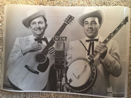 "Flatt and Scruggs Poster Photo 20"" x 30"" Nice!"