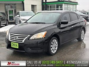 2014 Nissan Sentra 1.8SV | Auto, Tinted Windows, Remote Start