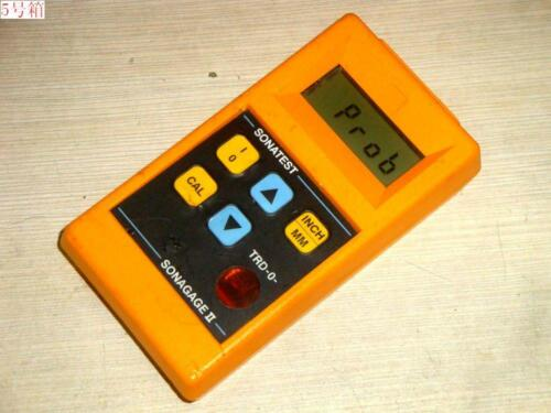 SONATEST SONAGAGE II Digital Ultrasonic Thickness Gauges w/o Transducer