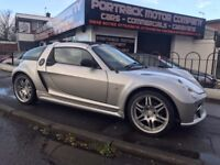 2004 SMART ROADSTER 0.7 BRABUS TARGA AUTOMATIC 2DR FULL LEATHER CONVERTIBLE