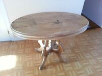 Table ovale antique - Antique oval table