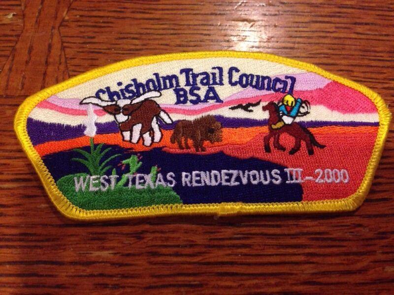 MINT CSP Chisholm Trail Council SA-8 2000 $50 Value