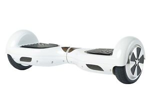 White Hoverboard (UL 2272 Certified)