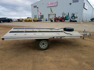 2015 Triton 8612 Flatdeck Snowmobile Trailer