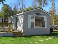 "Your Park Model ""Rice Lake Front"" Cottage Retreat Awaits You !!"