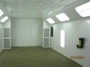 Spray Paint Booth's & Air Make Up Heater Units