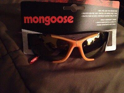 6059af8b3a1c Ironman Orange   Black Frame Polarized Lens Sport Sunglasses New