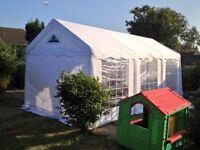 Gala tents 4x6m pvc marquee with carpet