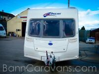 (Ref: 912) Bailey PAGEANT BURGUNDY Series 6 4 Berth Touring Caravan