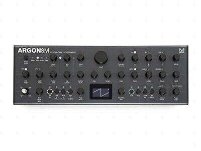 MODAL/Argon 8M 8 voice polyphonic wavetable synthesizer tabletop model