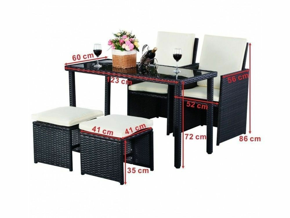 Fast And Free Delivery 5pc Rattan Patio Garden Furniture Set Brand New In London Gumtree