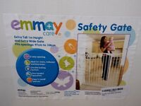 As New Emmay Care Extra Wide and Extra Tall Safety Gate