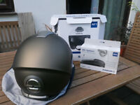 Schuberth M1 helmet, Size 59, Madrid metal with SRC system