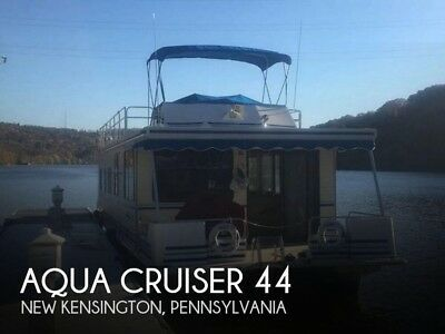 1992 Aqua Cruiser 44 Used Bose