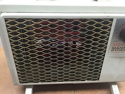 Manning Bowman Instant Heat model 325220A 1320 watt Heater