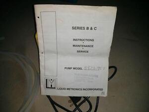 Industrial Grade Metronics Metering Pump Cambridge Kitchener Area image 4