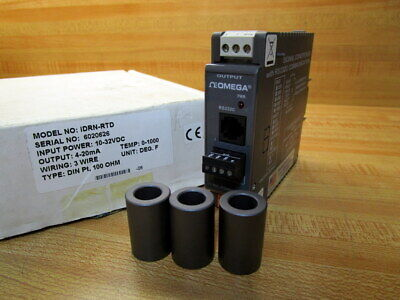 Omega Idrn-rtd Signal Conditioner Idrnrtd