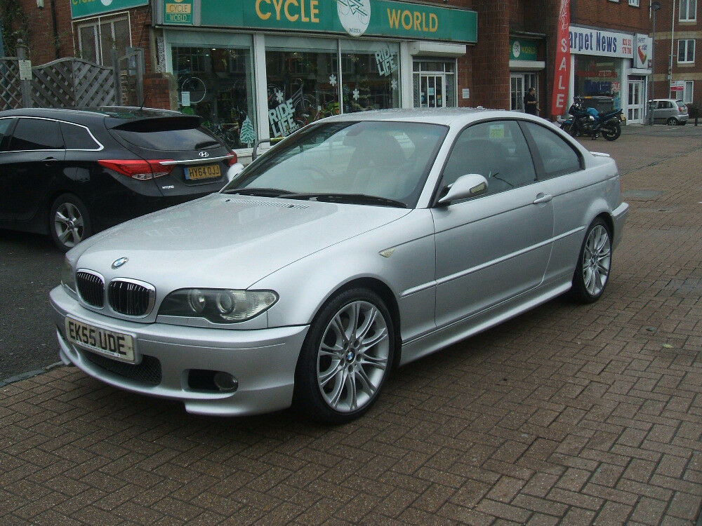 Bmw 3 Series 330cd Sport Silver 2005 In Portsmouth