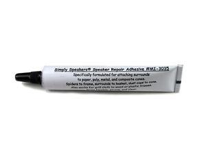 BEST Quality Speaker Repair Glue - Grill Cloth Adhesive Dust Caps Cones MI-3035
