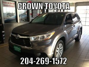 TOYOTA CERTIFIED! 2014 TOYOTA HIGHLANDER LE V6 AWD! CLEAN CARPR