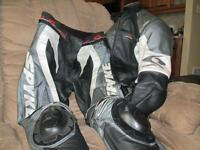 motorcycle racing jacket & pants