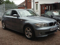 BMW 1 SERIES 120D SE (blue) 2006