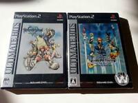 Kingdom Hearts 1 final mix & 2 final mix+ Japanese Import