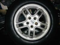 Land Rover 17inch 5 stud alloys (x4)