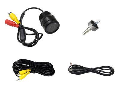 Telecamera retromarcia ad incasso 120 9 led visione notte aiuto parcheggio auto