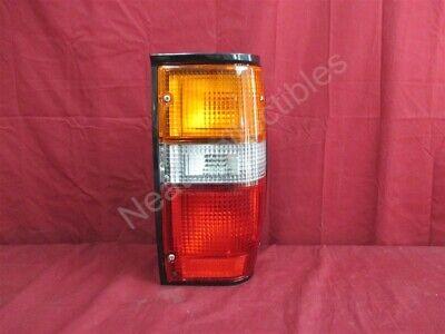 NOS OEM Dodge Ram D50 Tail Lamp Light 1987 - 93 Right Hand Black Bezel Dodge D50 Tail Light