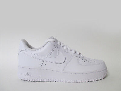 Nike Air Force 1 Low All White Triple Whiteout Sz 10 5 315122 111