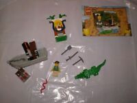 Oriental Expedition Lego River Boat and Crocodile