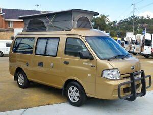 2005 Kia Frontline Campervan Pop Top, Turbo Diesel North Narrabeen Pittwater Area Preview