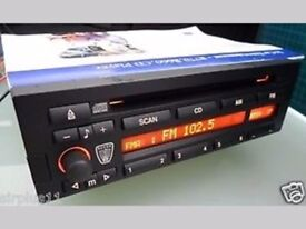 Searching rover 45 25 stereo radio CD