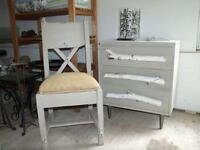 DRESSERS , TABLES , CHAIRS and MORE